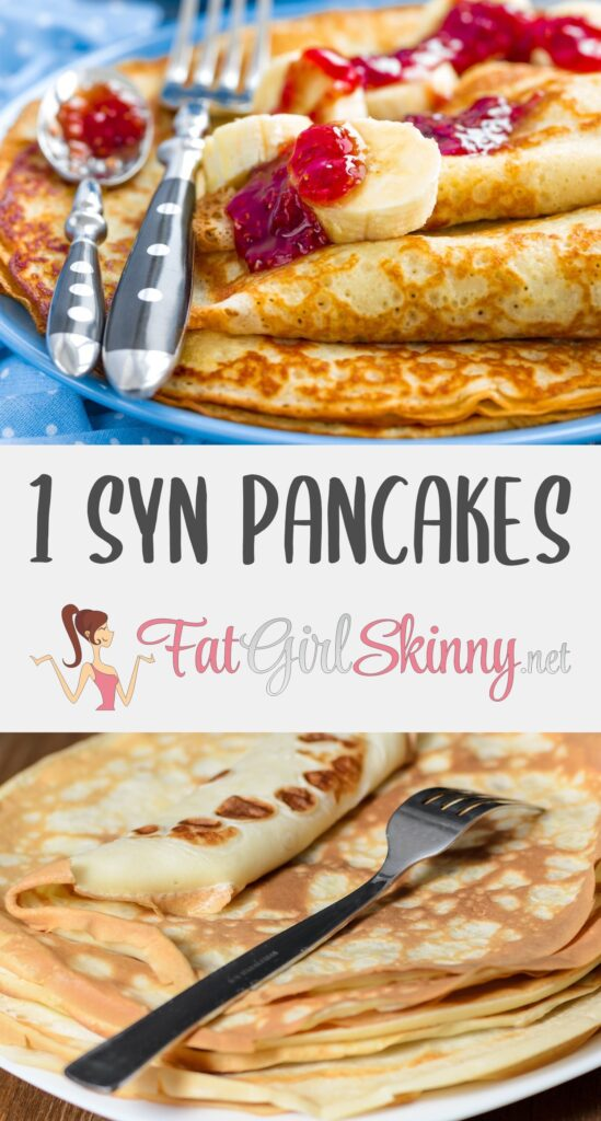 Shrove Tuesday 1 Syn Pancakes Fatgirlskinny Net Slimming World Recipes More