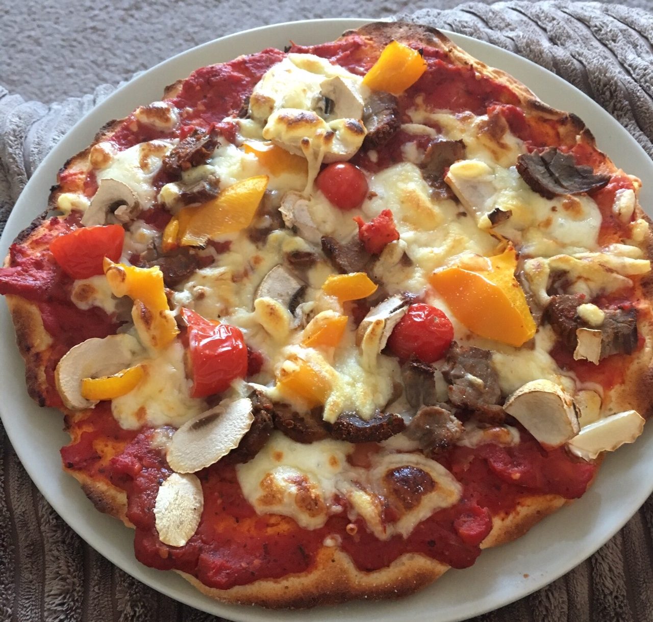 Homemade Healthy Pizza Recipe Slimming World 14 Syns Or