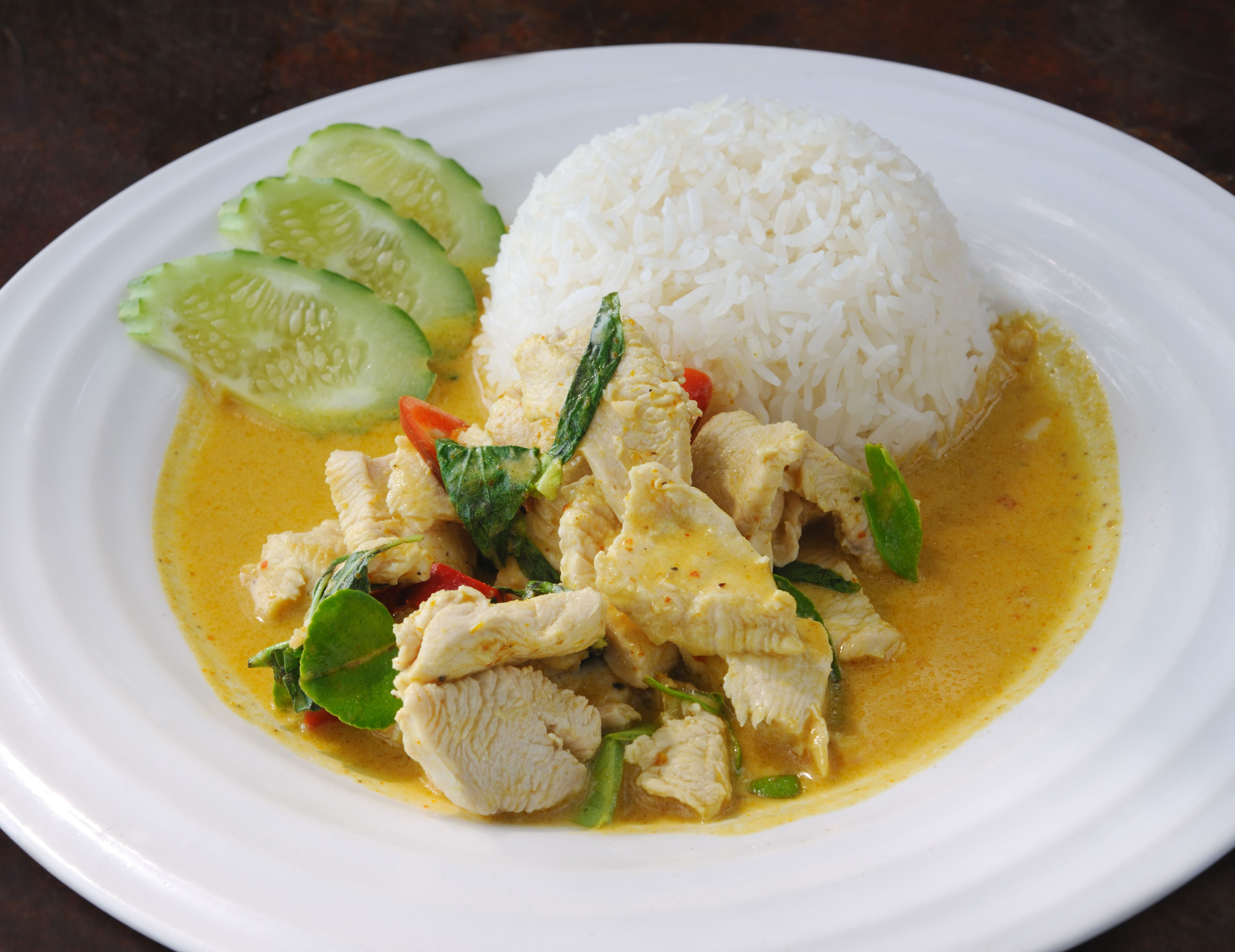 Syn Free Thai Green Chicken Curry Slimming World Fakeaway