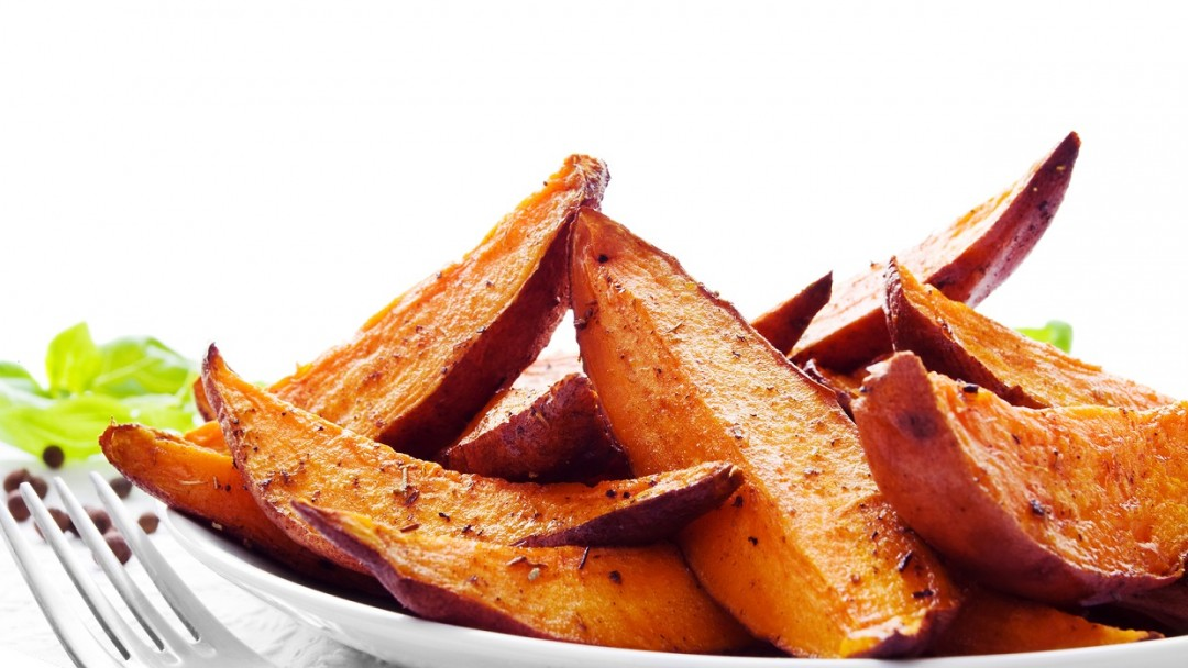 Easy way to make sweet potato chips slimming world