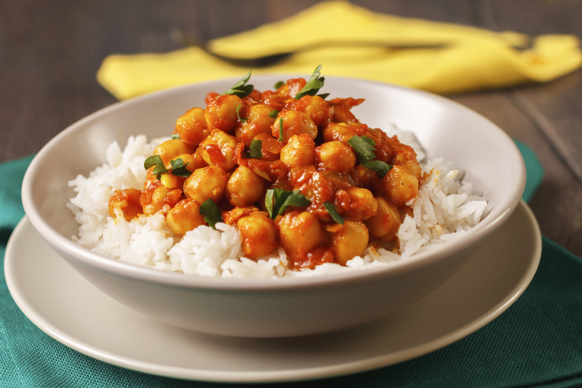 Syn Free Vegetarian Chickpea Curry Slimming World Recipe