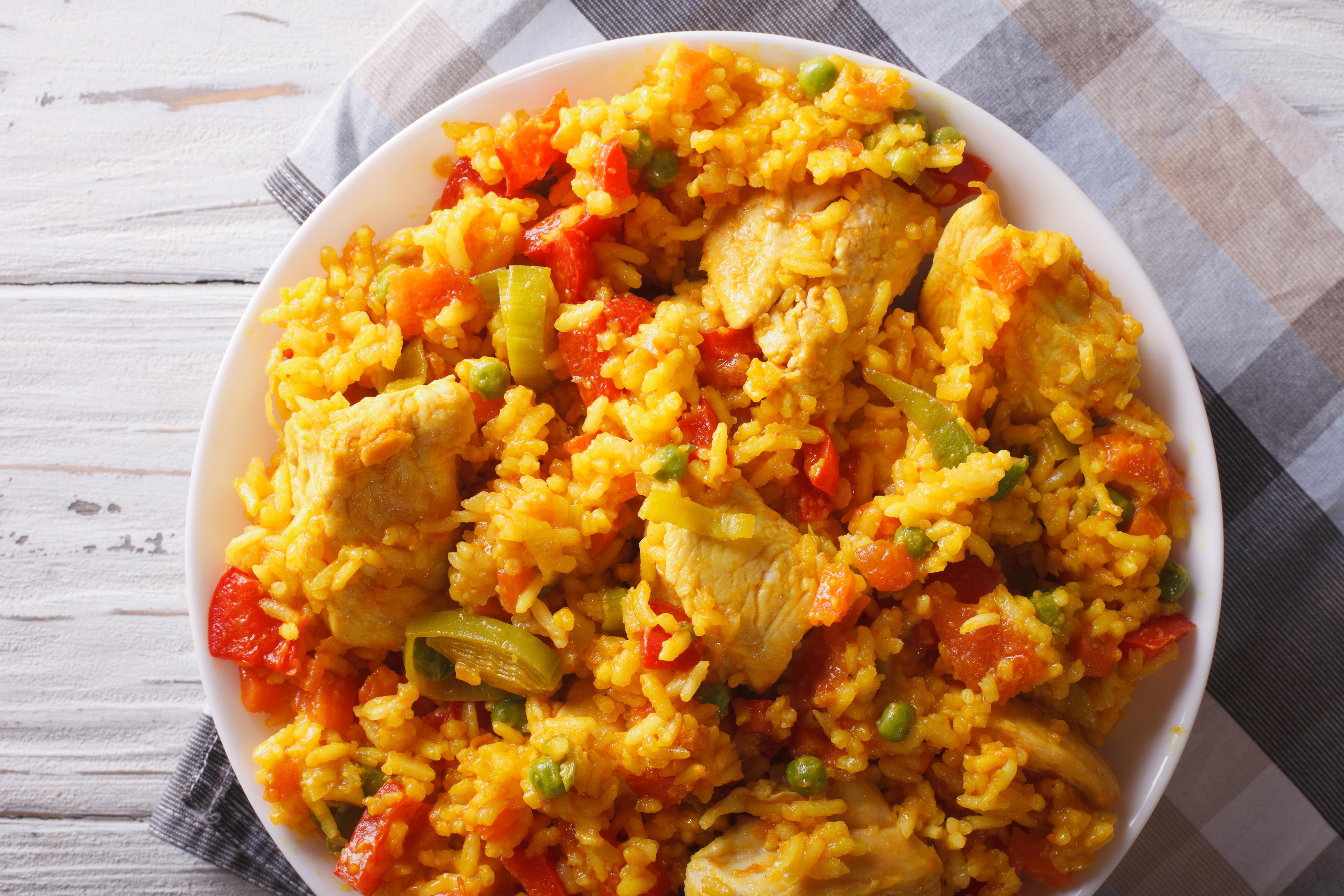 Syn Free Chicken Paella   Slimming World Recipe ...