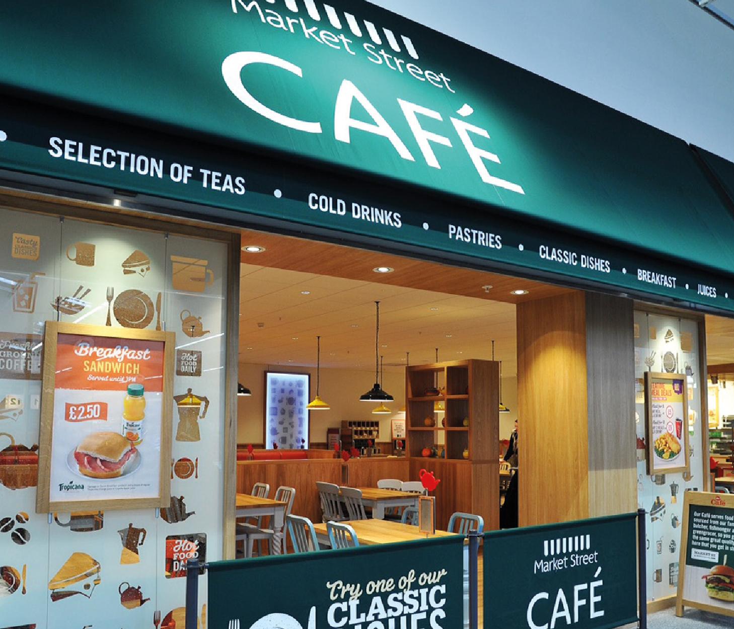 Morrisons Cafe Menu