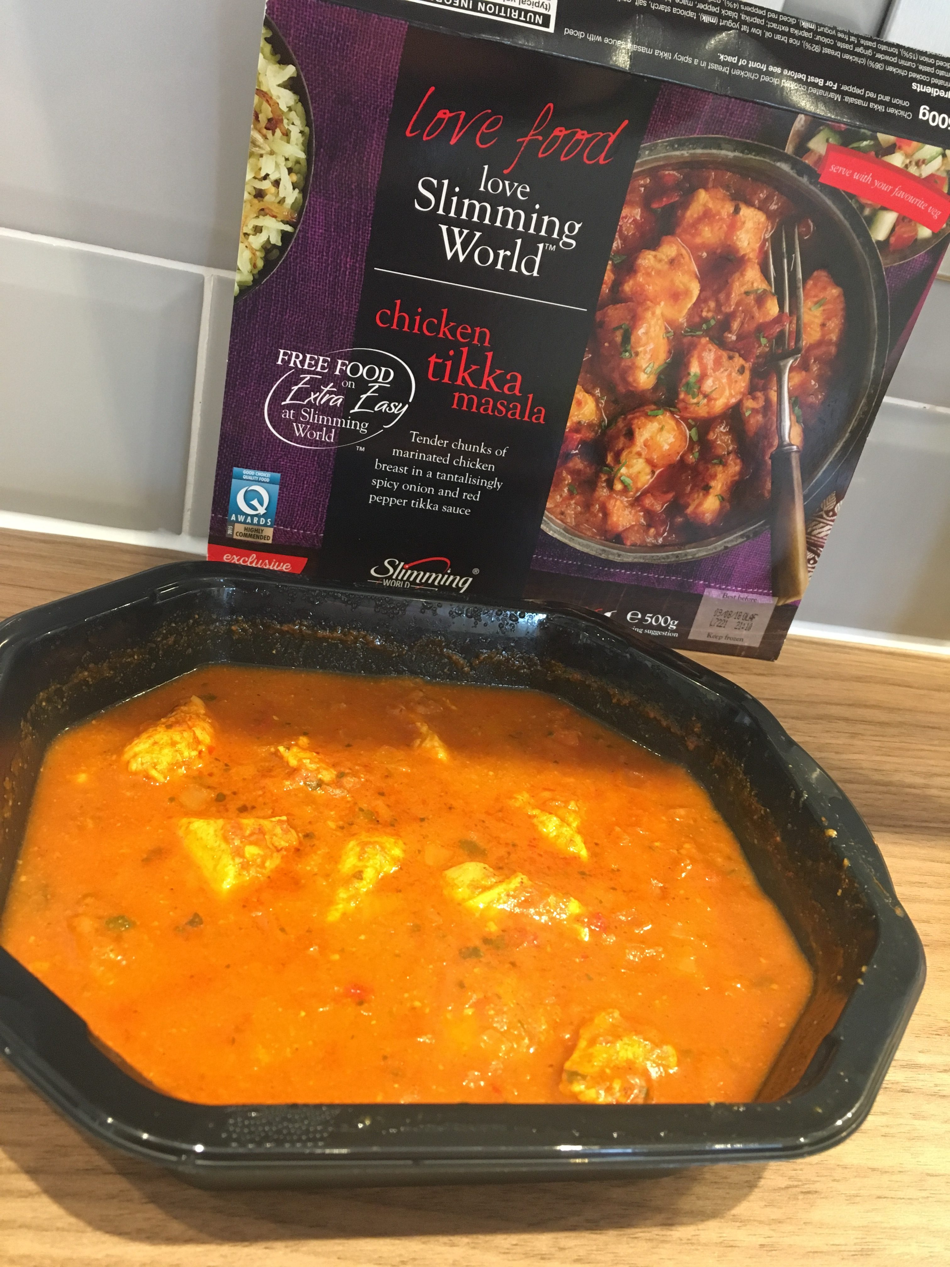 Icelands Slimming World Chicken Tikka Masala Review