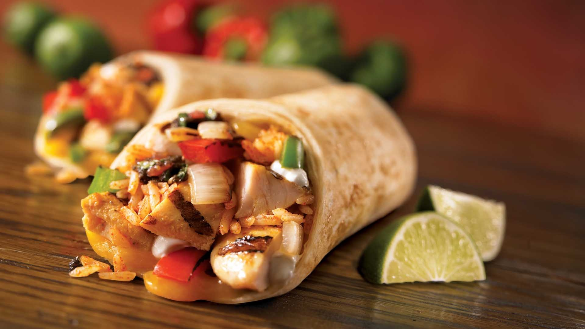 Syn Free Fajita Burrito Wraps Slimming World Recipe
