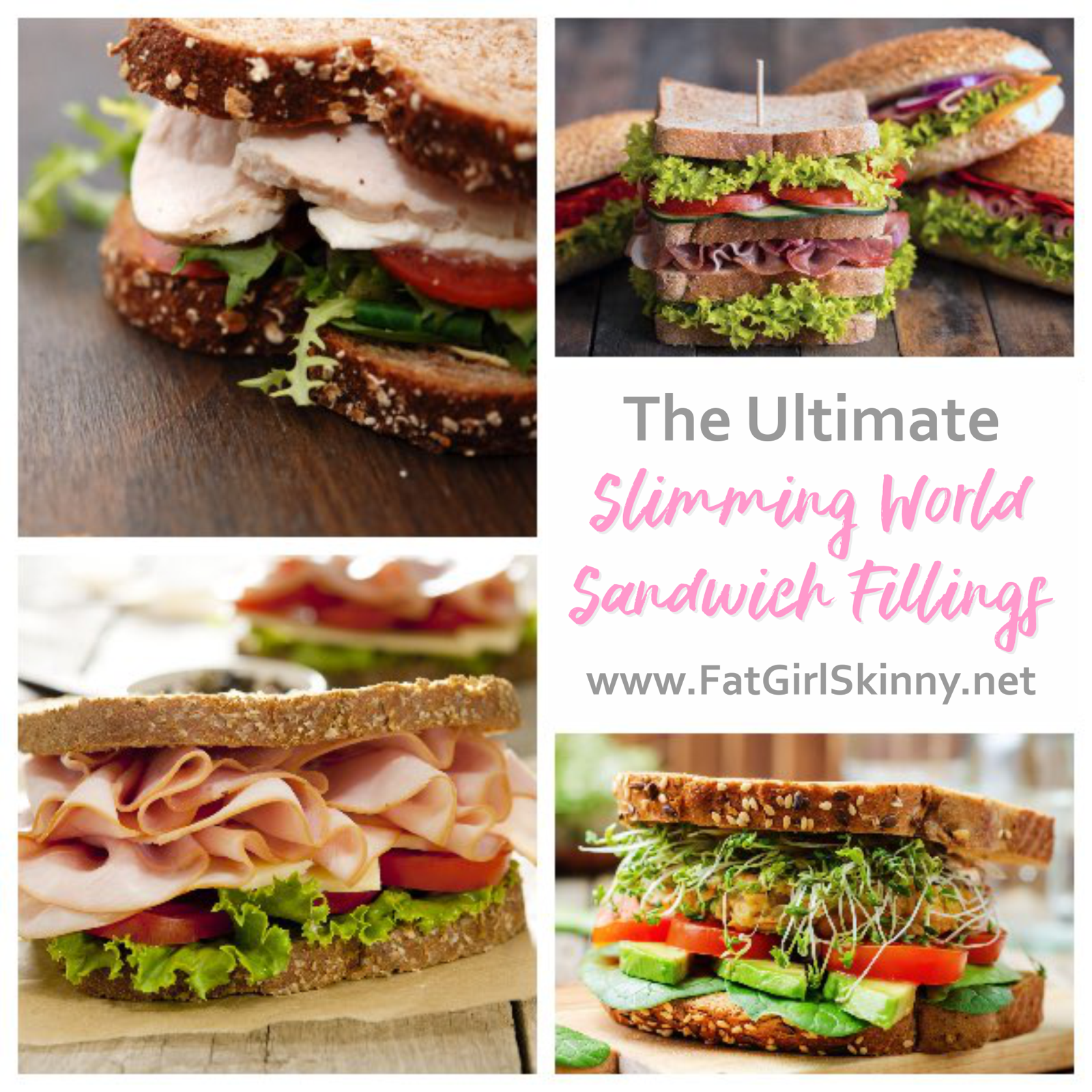 The Ultimate Slimming World Sandwich Fillings