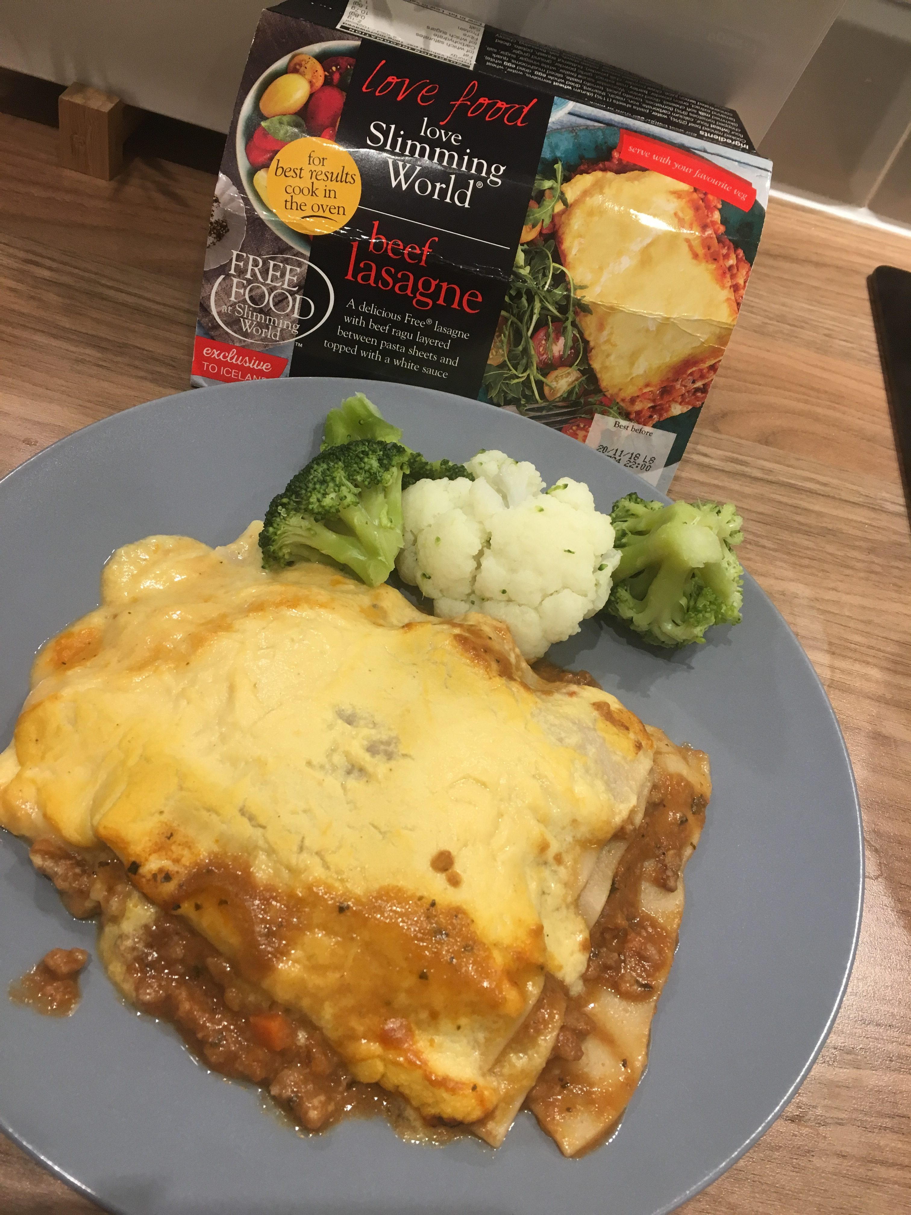 Iceland S Slimming World Beef Lasagne My Review Fatgirlskinny