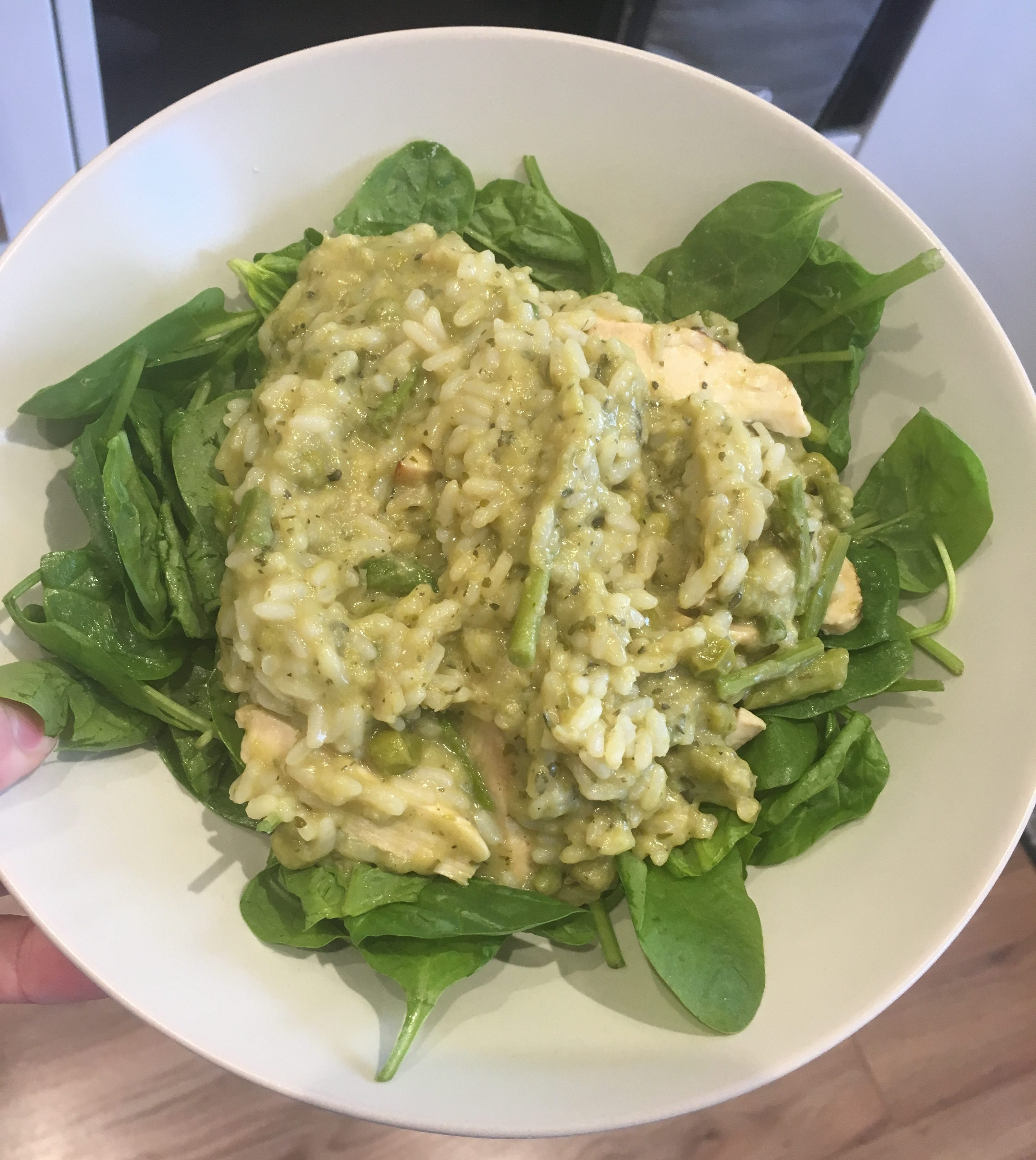 Chicken And Asparagus Risotto Slimming World Recipe