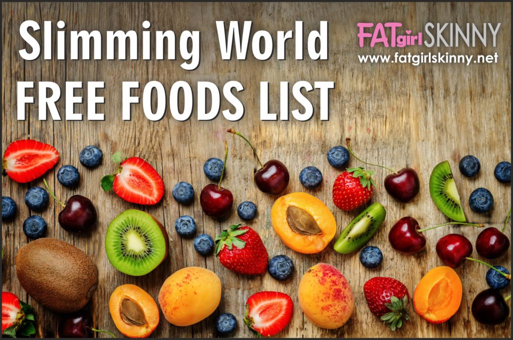 free foods on slimming world diet