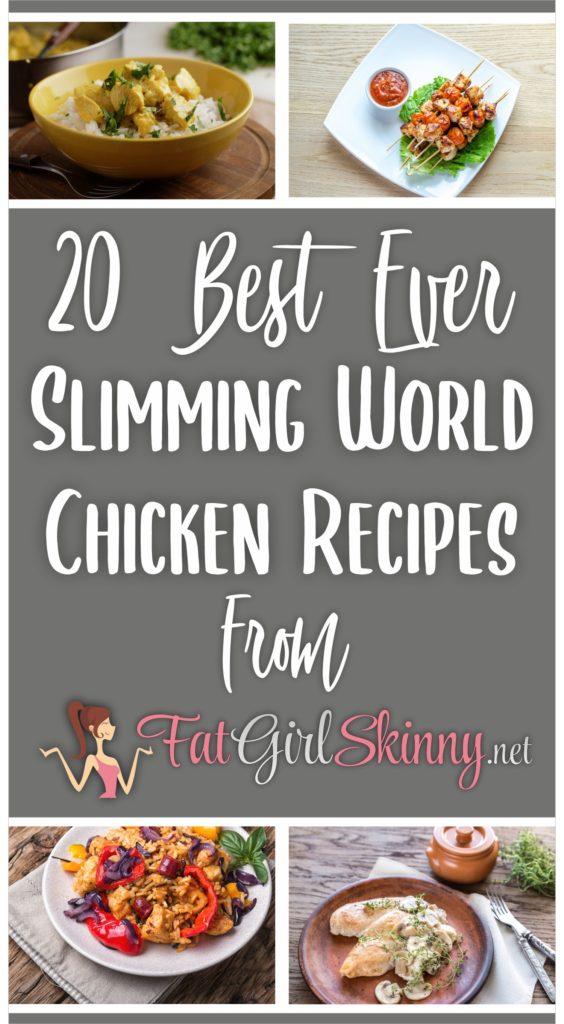20 Best Ever Slimming World Chicken Recipes Fatgirlskinny