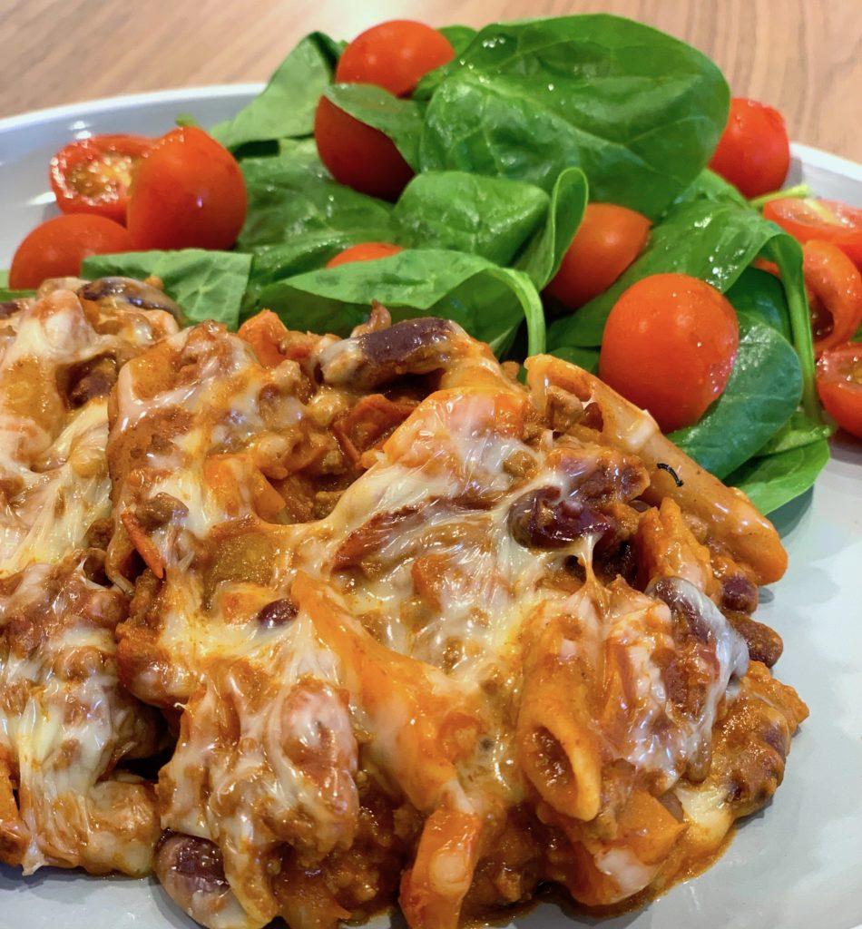 Super Cheesy Kickin Chili Pasta Slimming World Recipe
