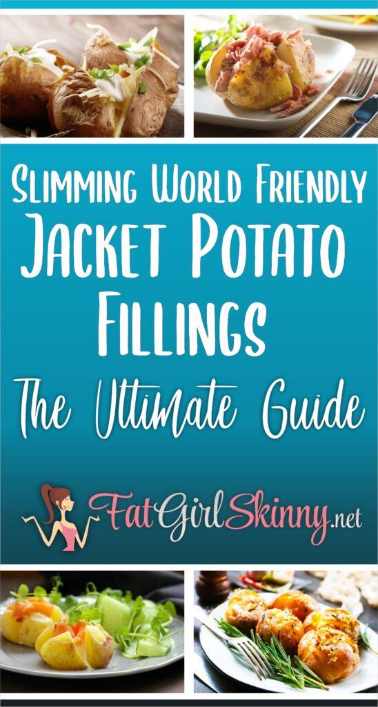 Slimming World Friendly Jacket Potato Fillings The