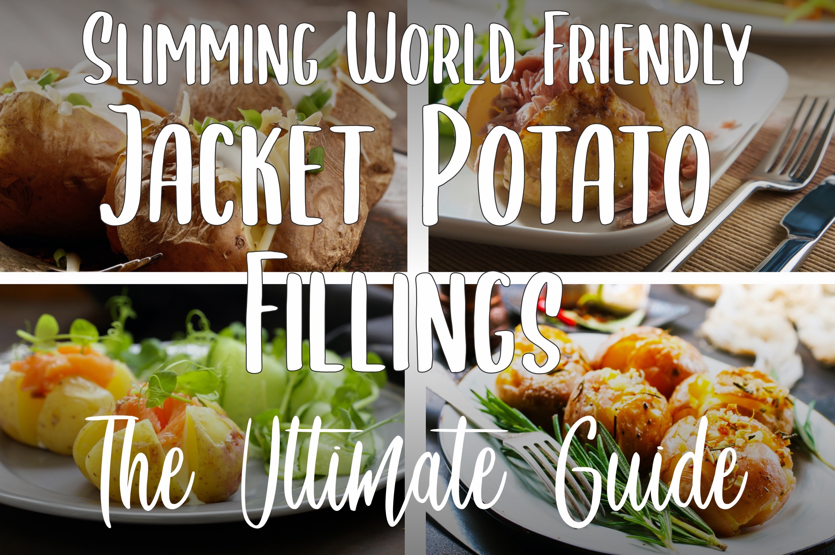 Slimming World Friendly Jacket Potato Fillings The